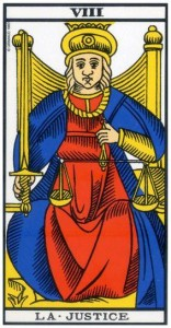 Arcana 8 - Justetea